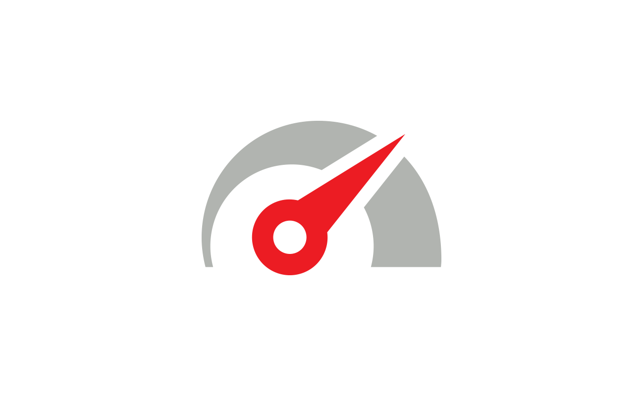 Real-time speedometer icon