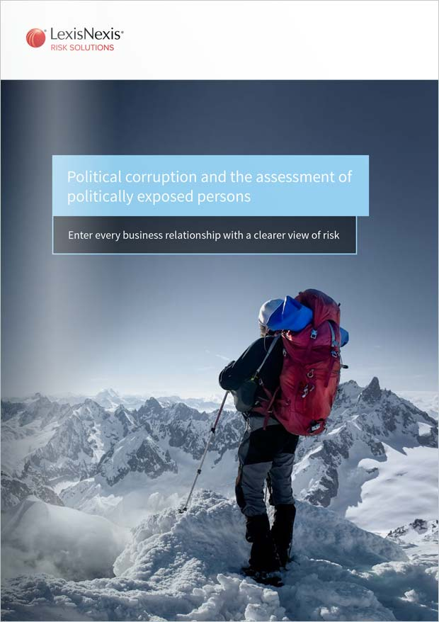Assessment of Politically Exposed Persons Whitepaper